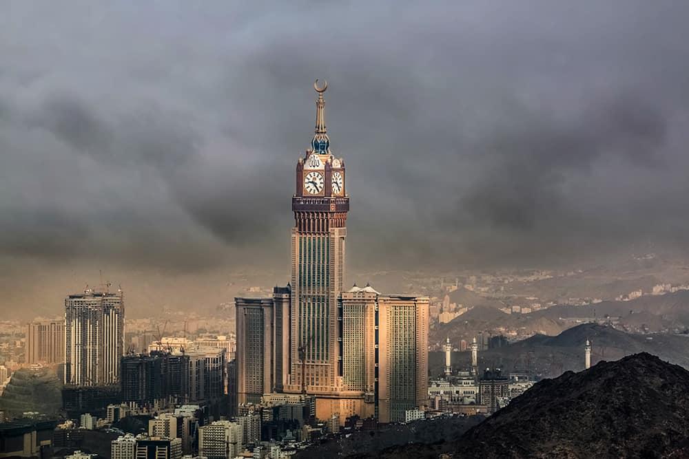 Abraj Al Bait (Ebrac el-Beyt Kuleleri),601 metre, Mekke, Suudi Arabistan