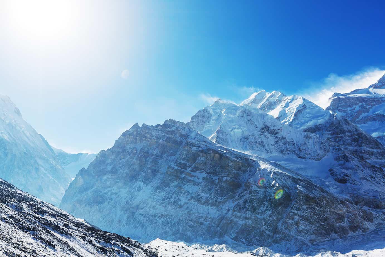 Kanchenjunga (Kançencunga Dağı),8,586, Nepal-Hindistan, Asya