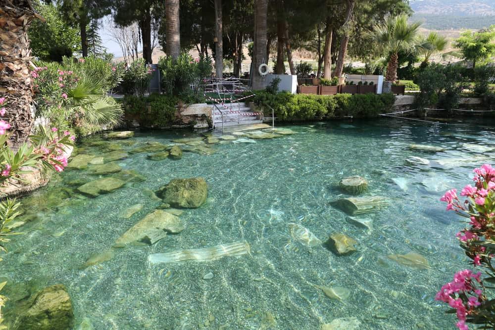 Antik Havuz - Kleopatra Havuzu, Denizli