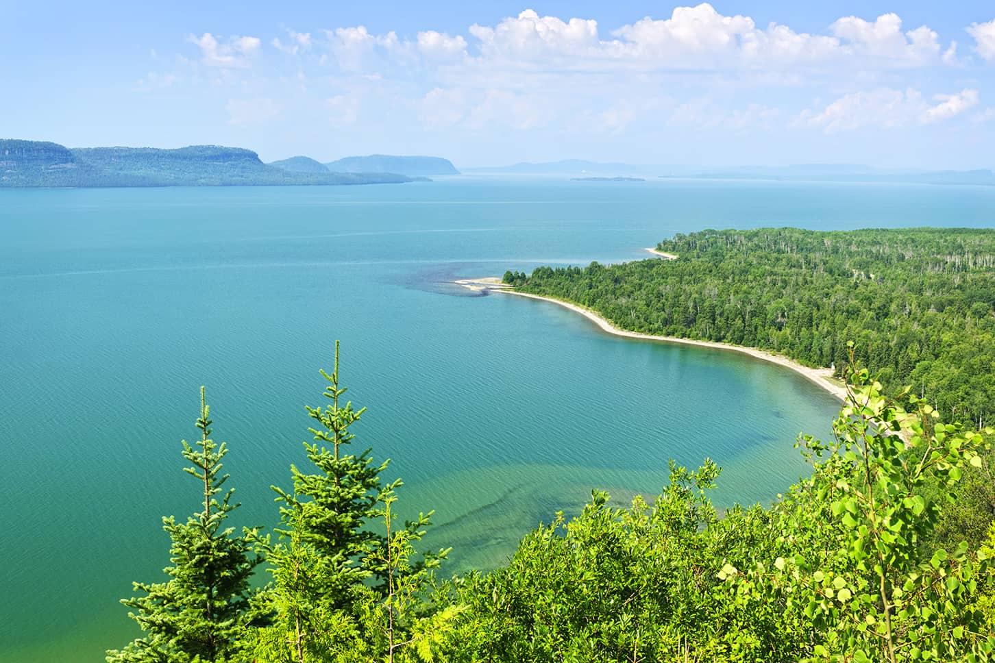 Lake Superior (Superior Gölü), Kanada-Amerika Birleşik Devletleri, Kuzey Amerika