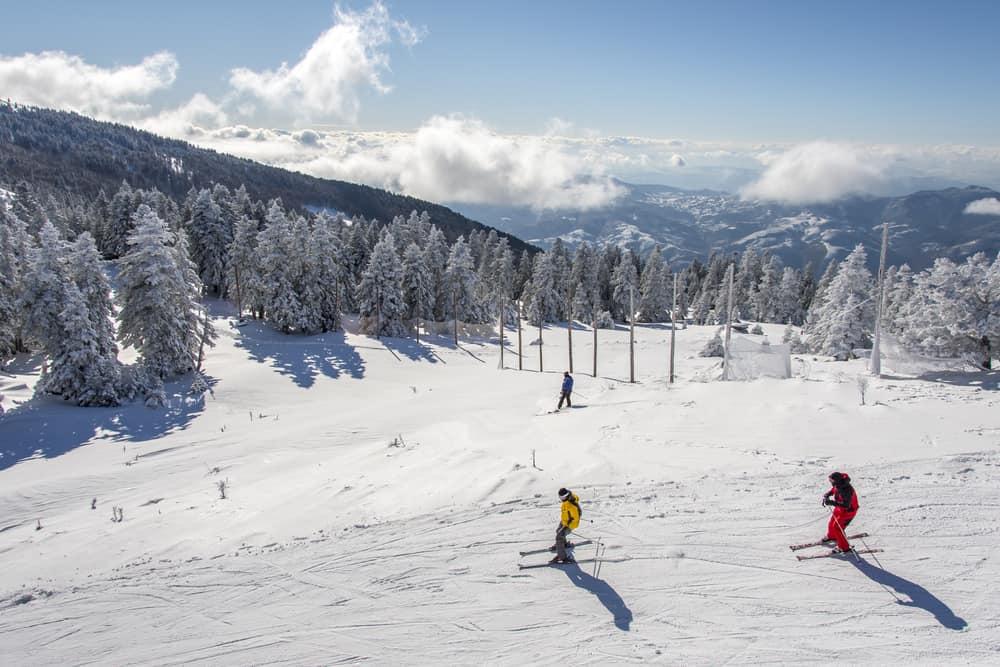 Uludağ Kayak Merkezi Pist