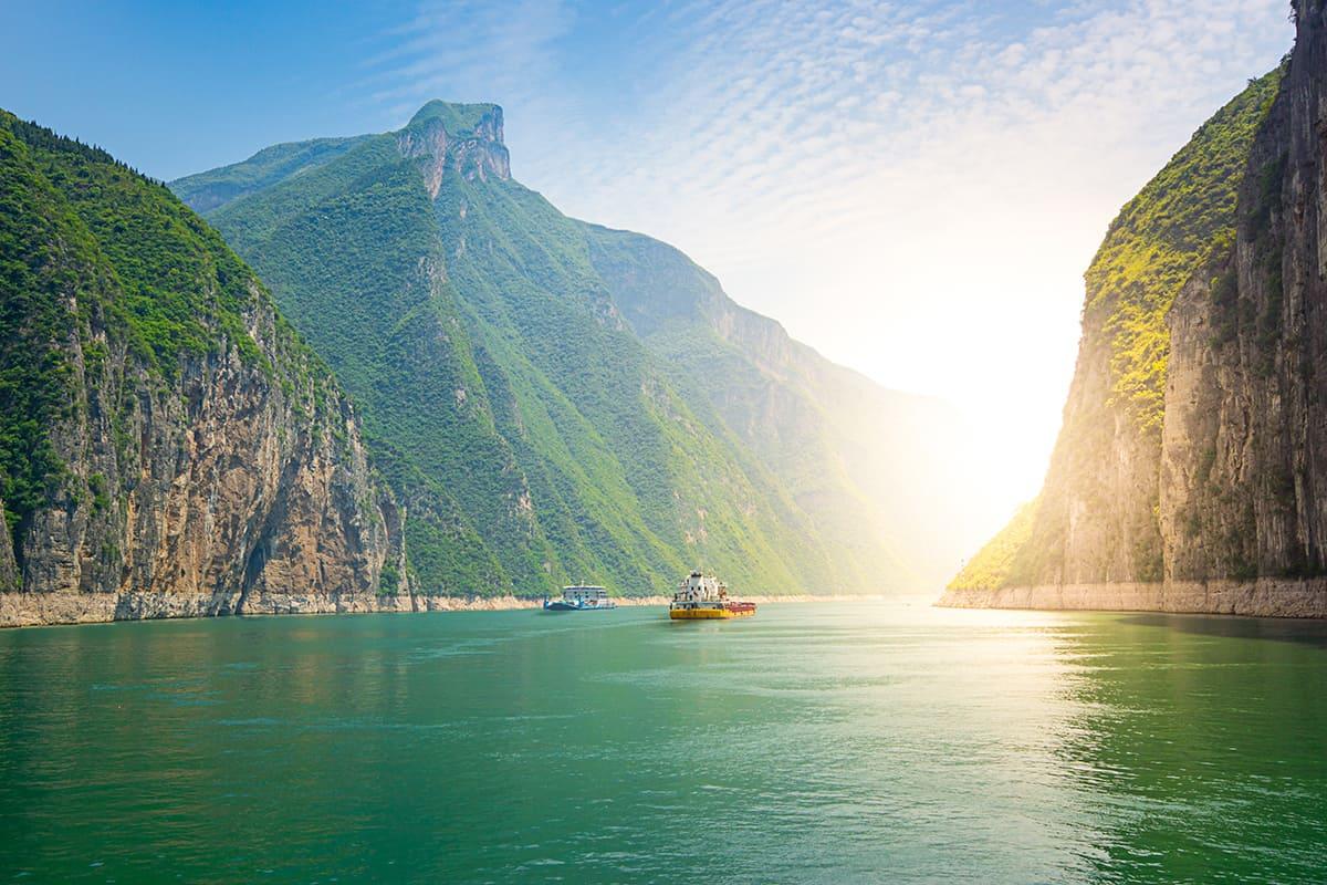 Yangtze, Çin, Asya