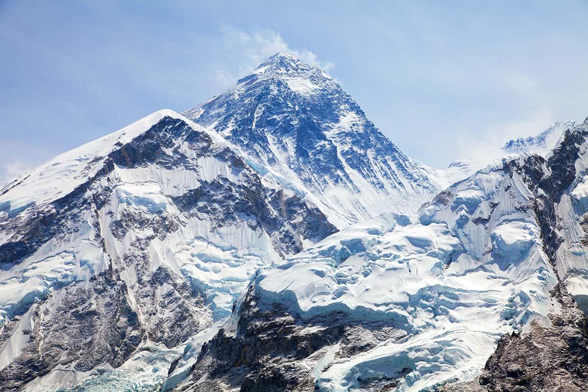 Mount Everest (Everest Dağı),8,848 metre, Çin-Nepal, Asya