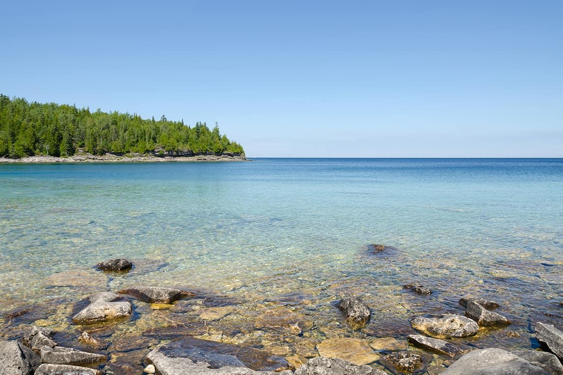 Lake Huron (Huron Gölü), Kanada-Amerika Birleşik Devletleri, Kuzey Amerika