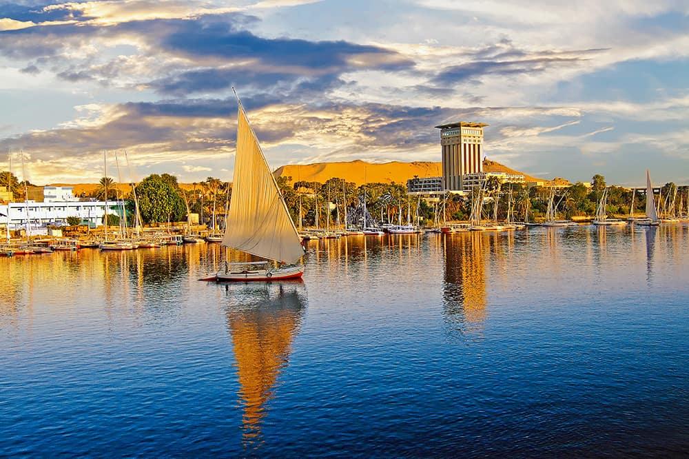 Nile (Nil Nehri), Mısır, Kuzeydoğu Afrika