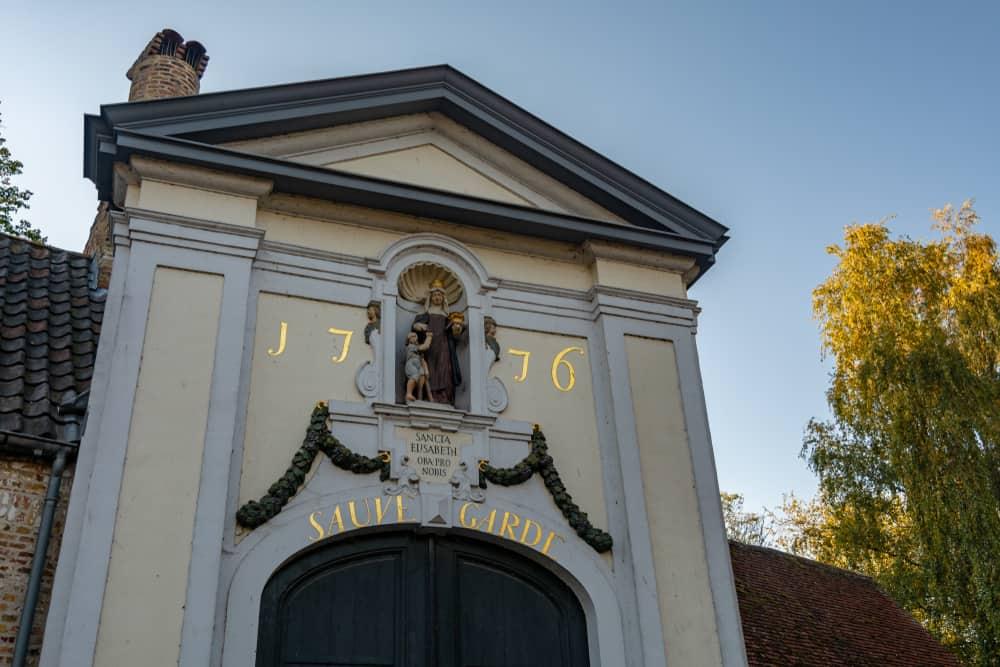 Begijnhof Manastırı (Beguinage) Bruge