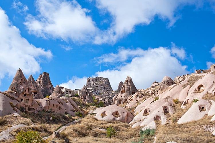 Uçhisar, Kapadokya