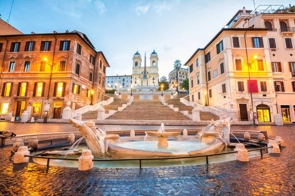 İspanyol Merdivenleri Roma