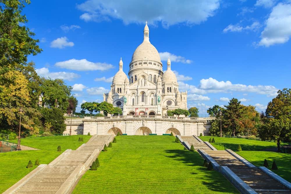 Sacre-Coeur Paris Fransa