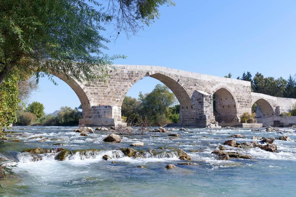 Aspendos Köprüsü Manavgat Antalya