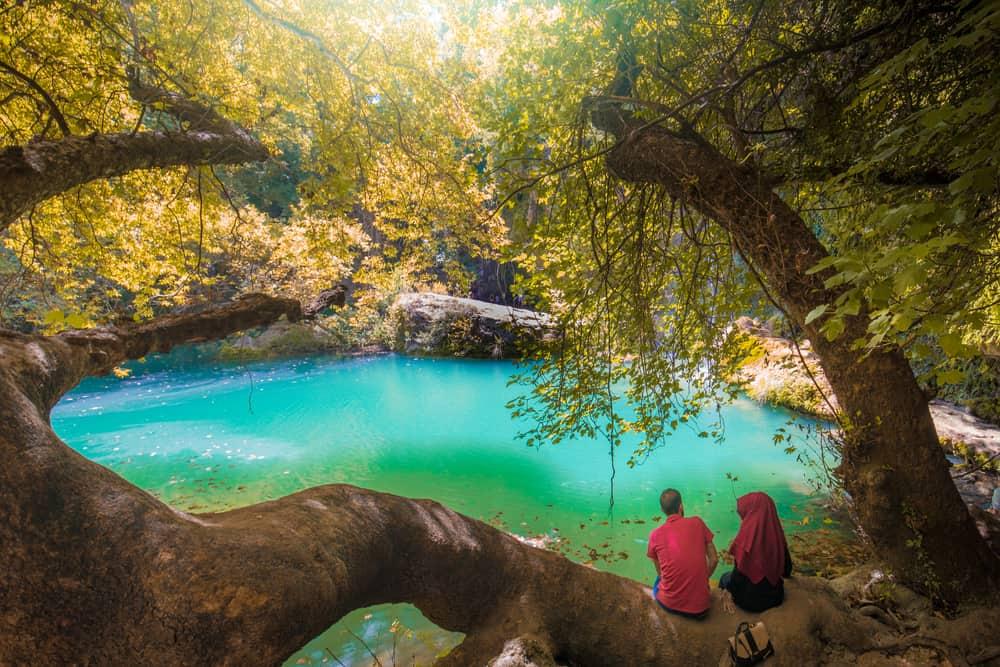 Gizli Cennet Şelalesi Manavgat Antalya