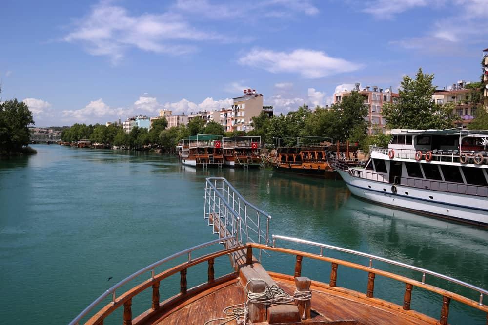 Manavgat Nehri Antalya