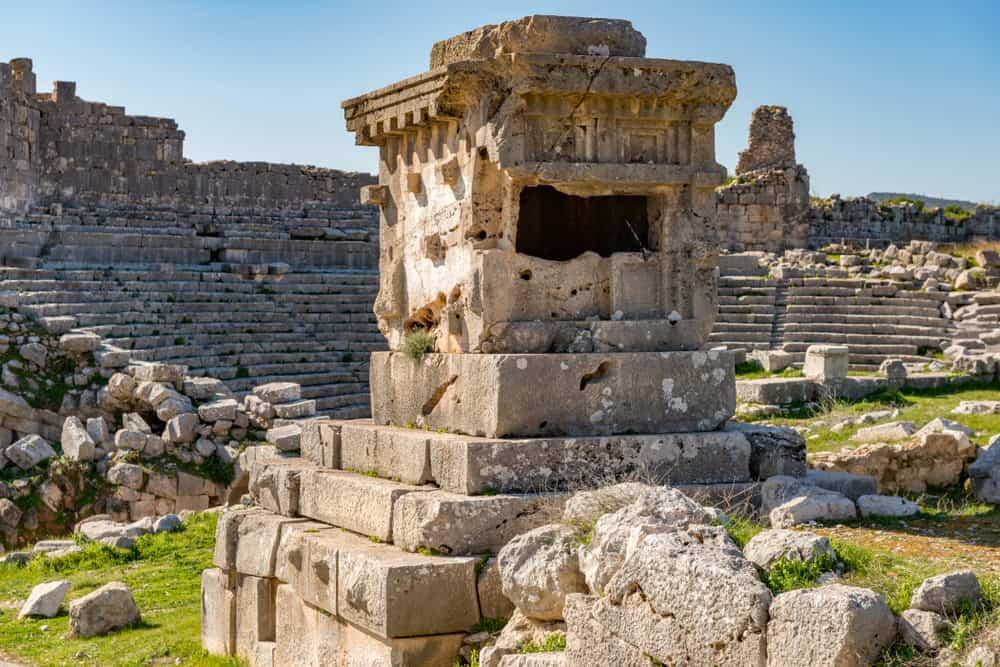 Kalkan'daki Antik Kentler