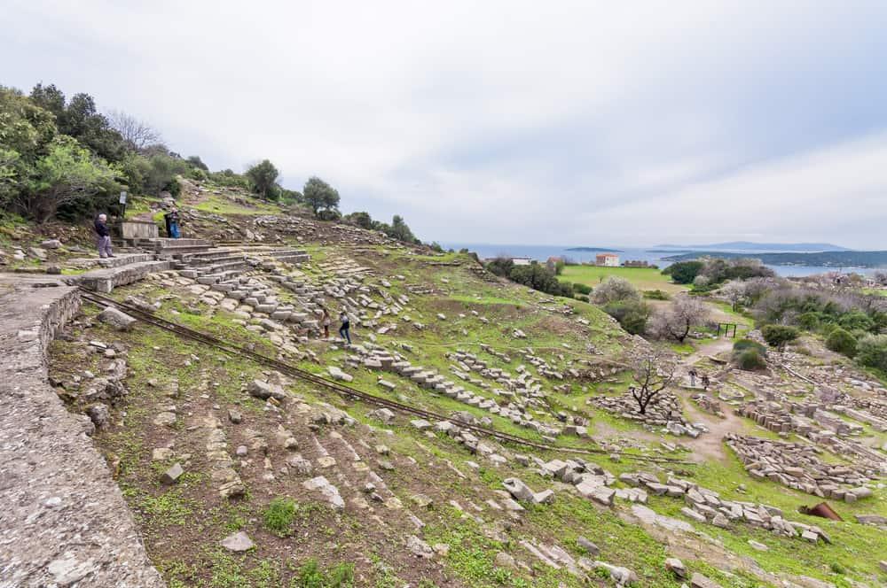 Erythrai Antik Kenti Çeşme