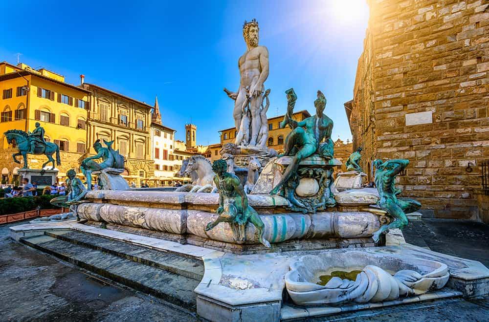 Piazza della Signoria Floransa