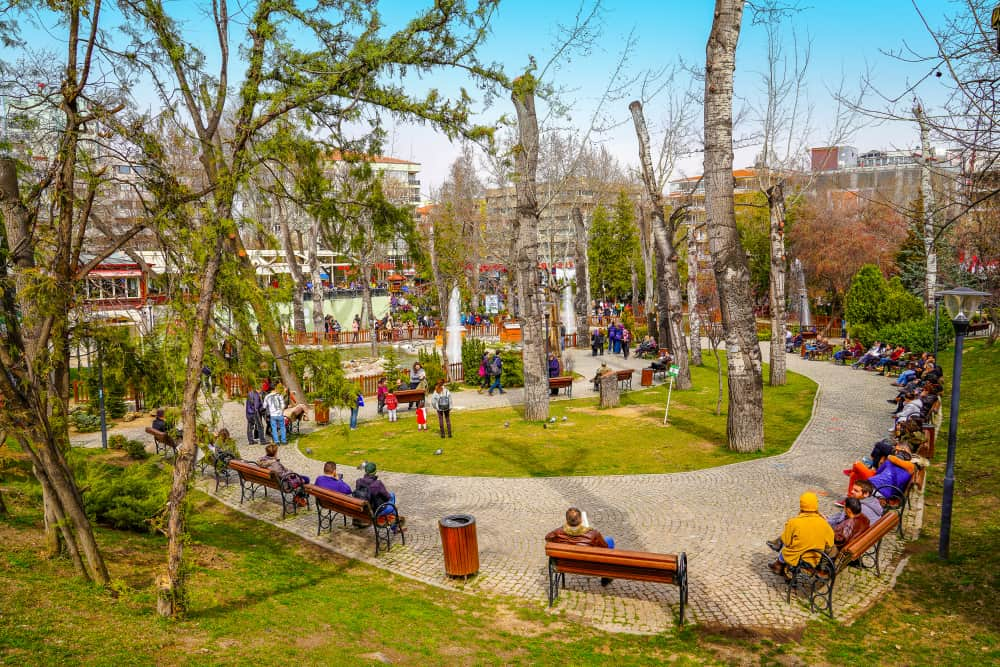 Kuğulu Park, Ankara