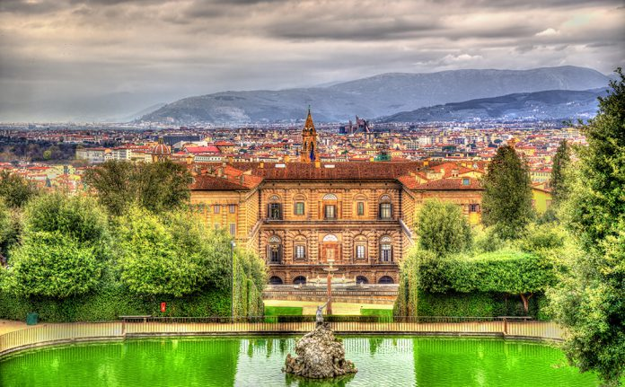 Palozzo Pitti Sarayı Floransa İtalya