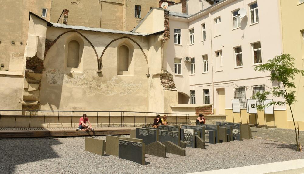 Yahudi Soykırımı Anıtı Lviv
