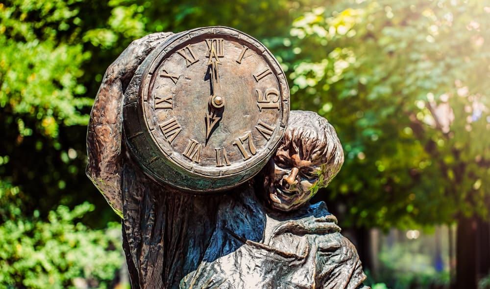 Rynok Meydanı Lviv- Bira Göbeği Heykeli