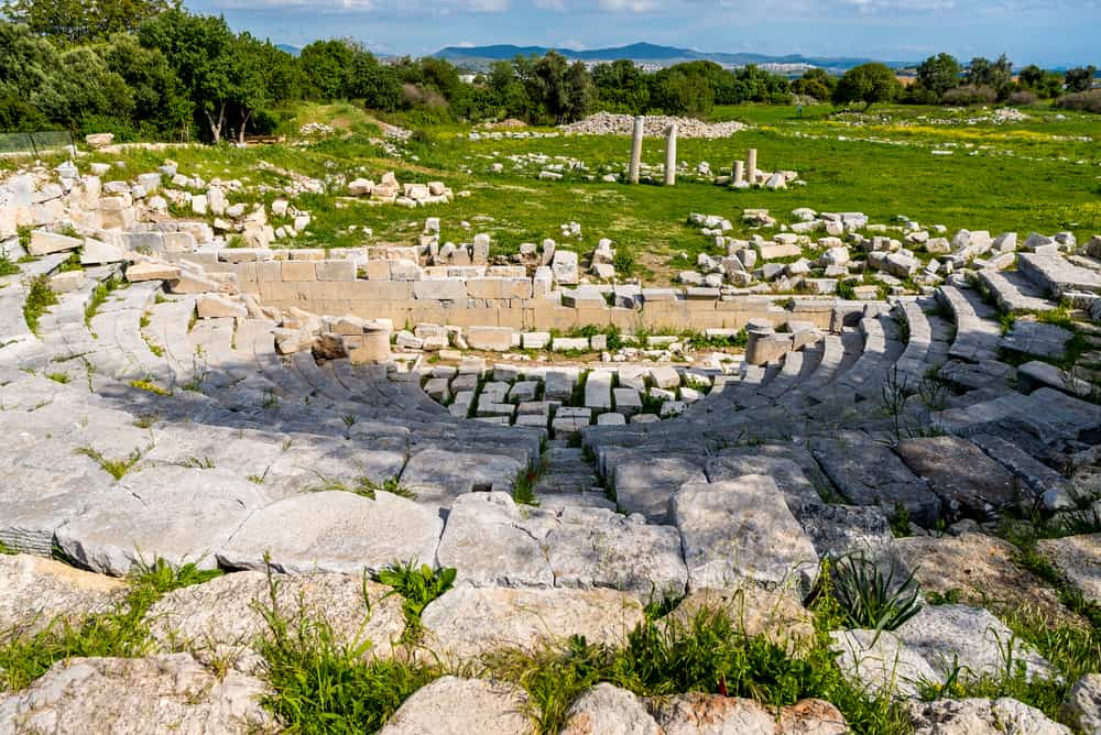 Teos Antik Kenti, Seferihisar, İzmir