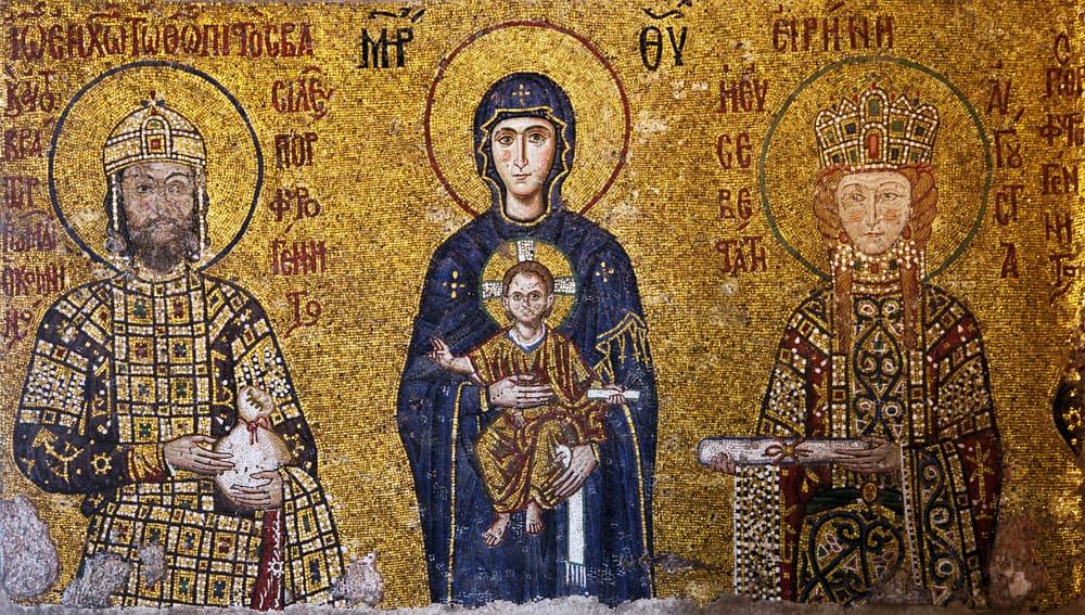 Ayasofya Bizans Mozaiği