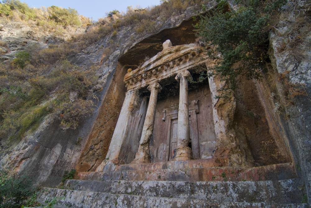 Fethiye Amintas Kaya Mezarları (Kral Mezarları)