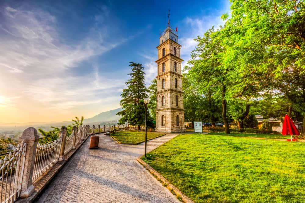 Tophane Saat Kulesi, Bursa
