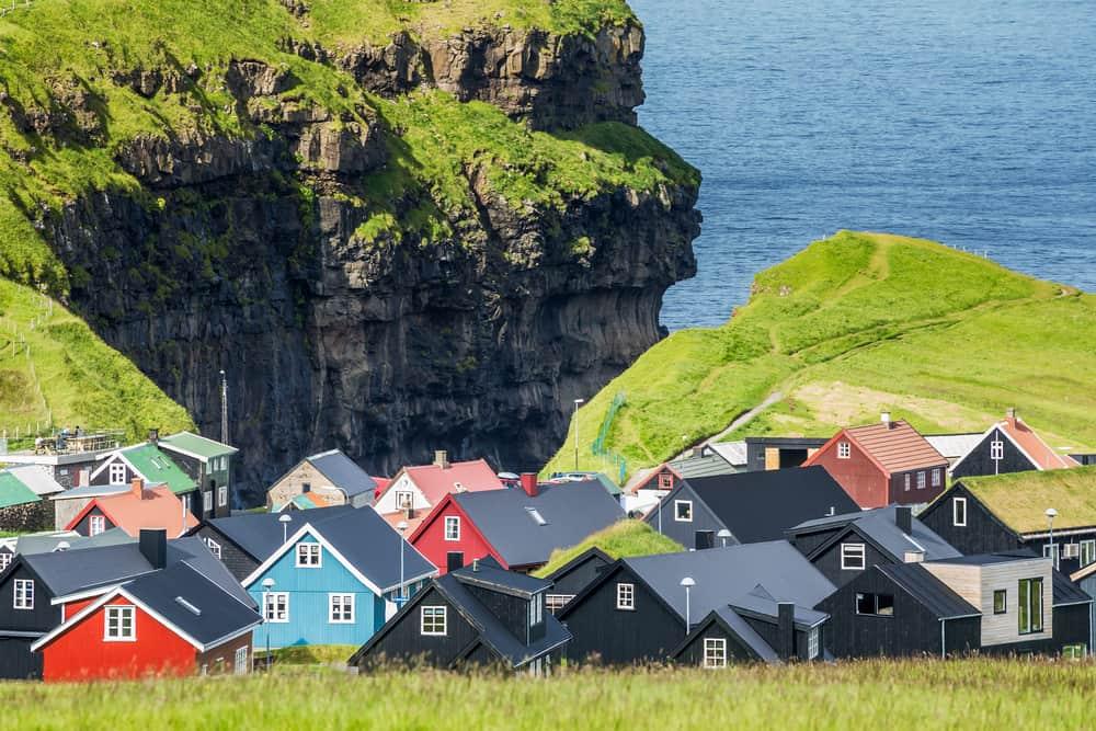 Faroe Adaları Evler