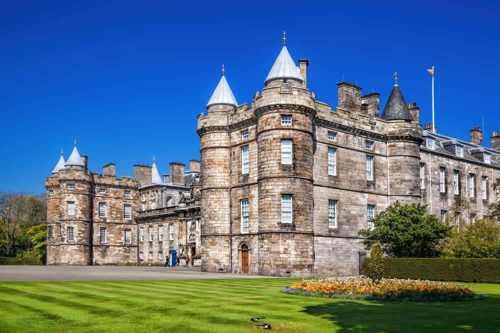 Holyrood Sarayı