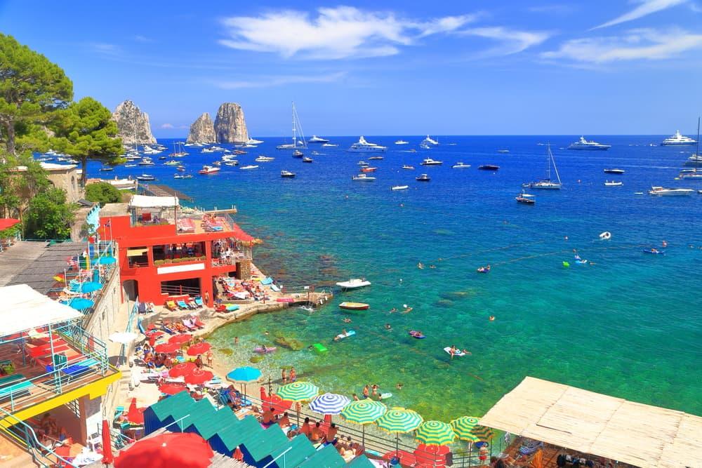 Capri Adası İtalya