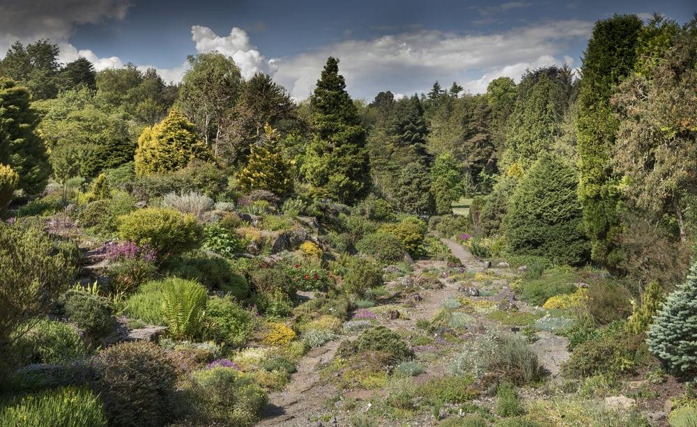 st andrews botanik bahçesi