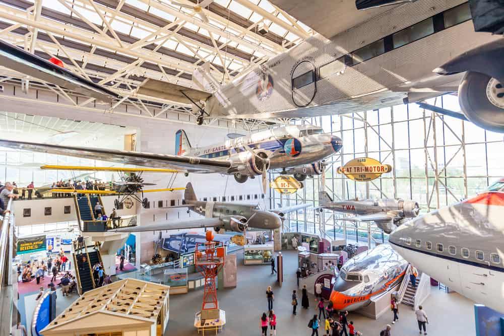 washington ulusal havacılık müzesi