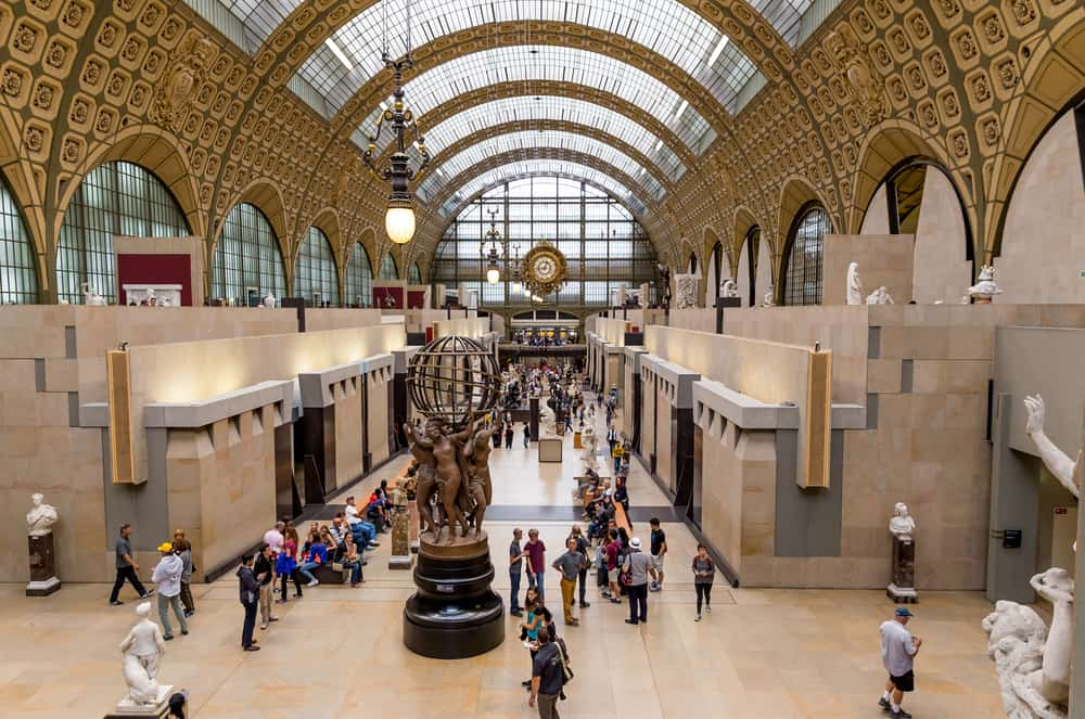 Orsay Müzesi Paris Fransa