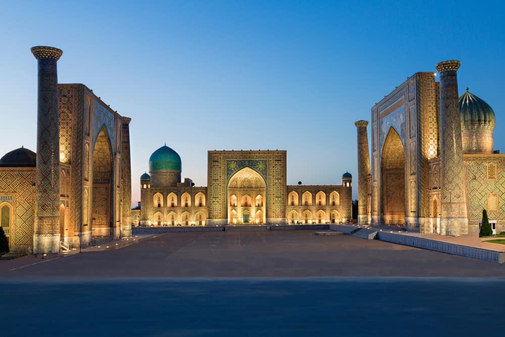 Semerkant Özbekistan