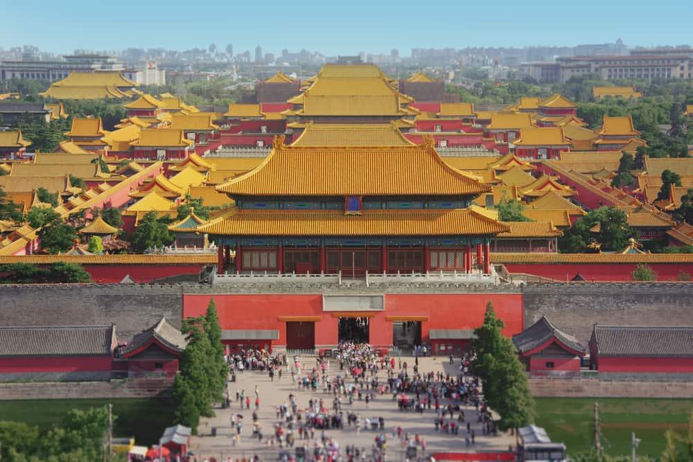 İmparatorluk Sarayı ve Yasak Şehir Pekin, Çin
