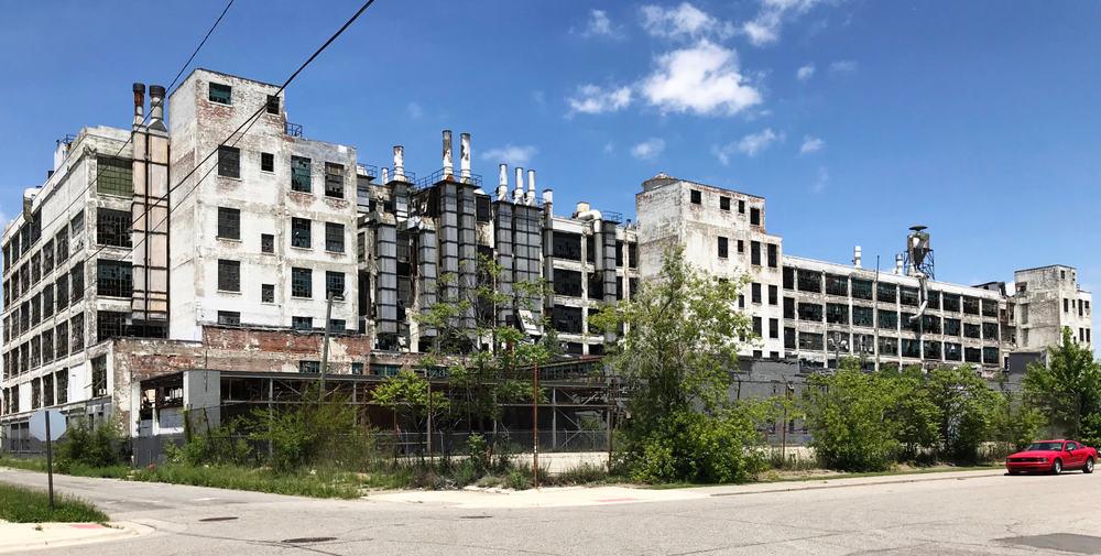 Detroit eski fabrika