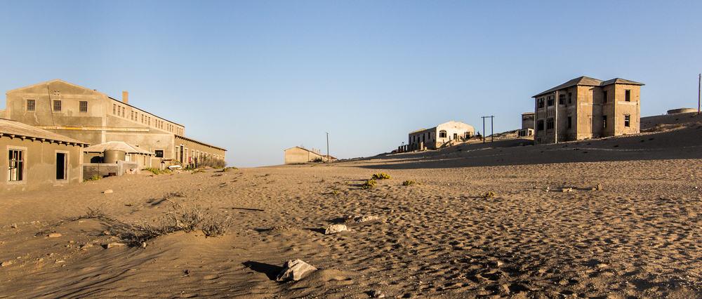 Kolmanskop şehir