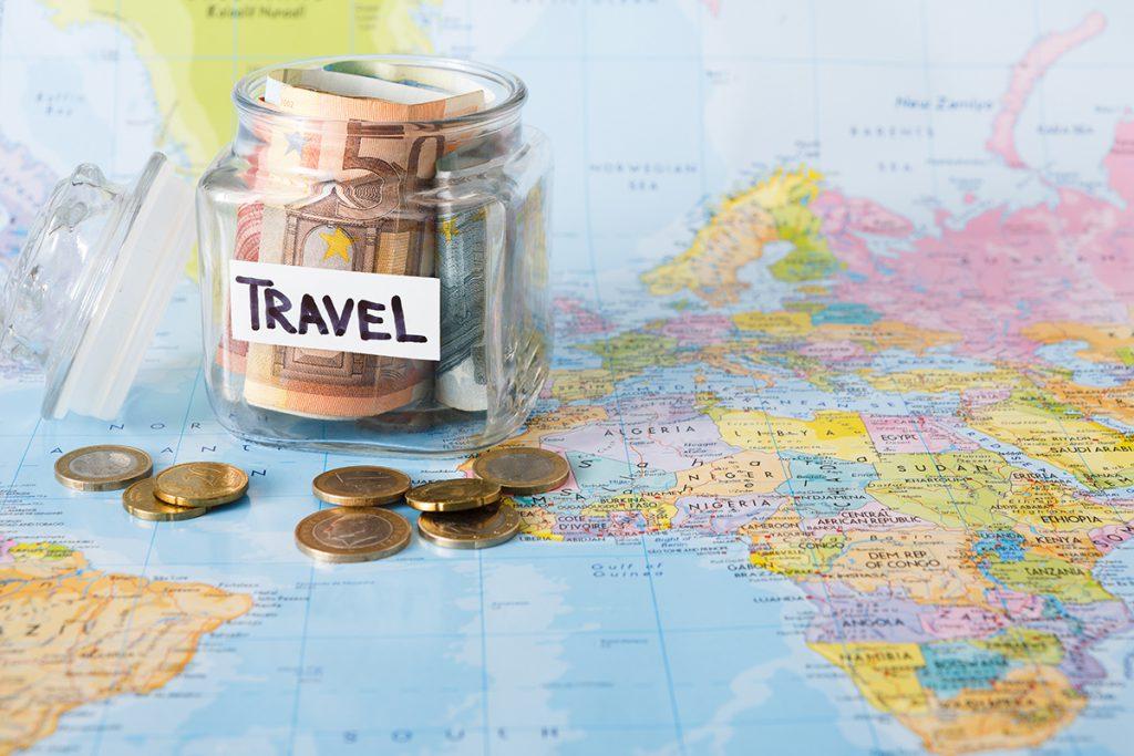 Para biriktirin, seyahat kumbarası