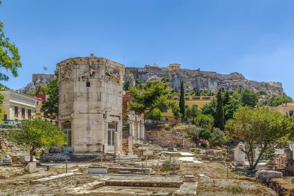 Rüzgar Kulesi Atina