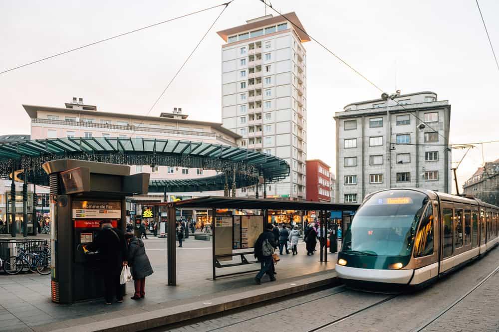 Strazburg Tramvay
