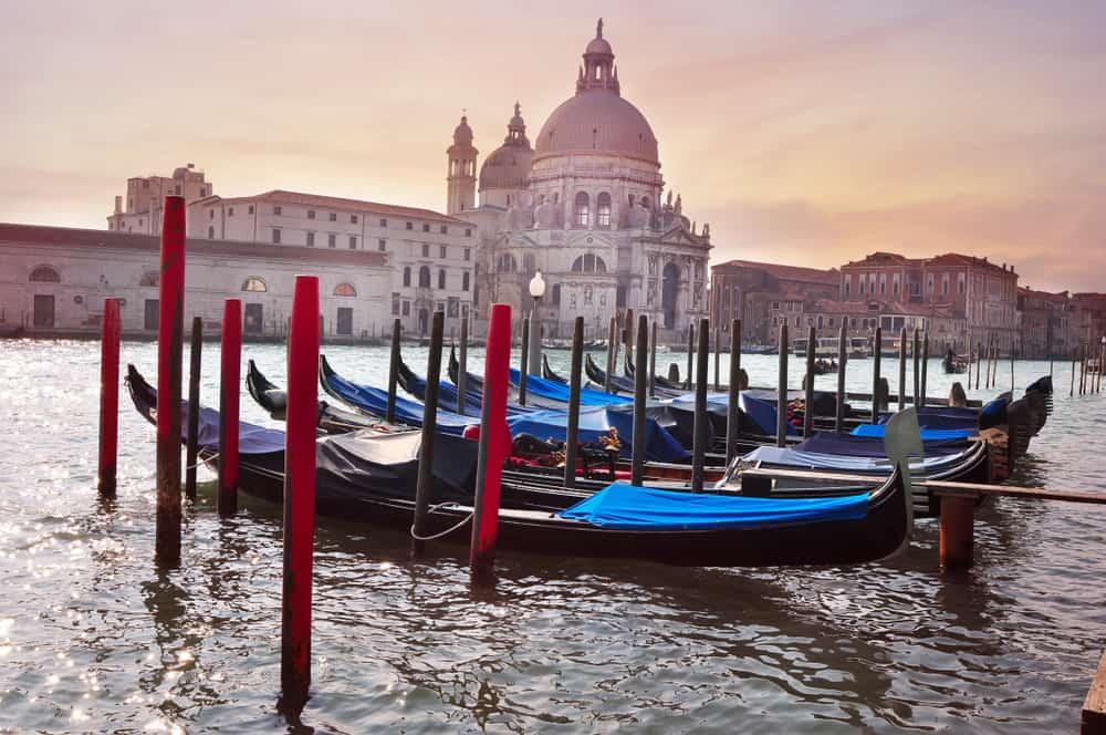 Venedik, İtalya Gondol