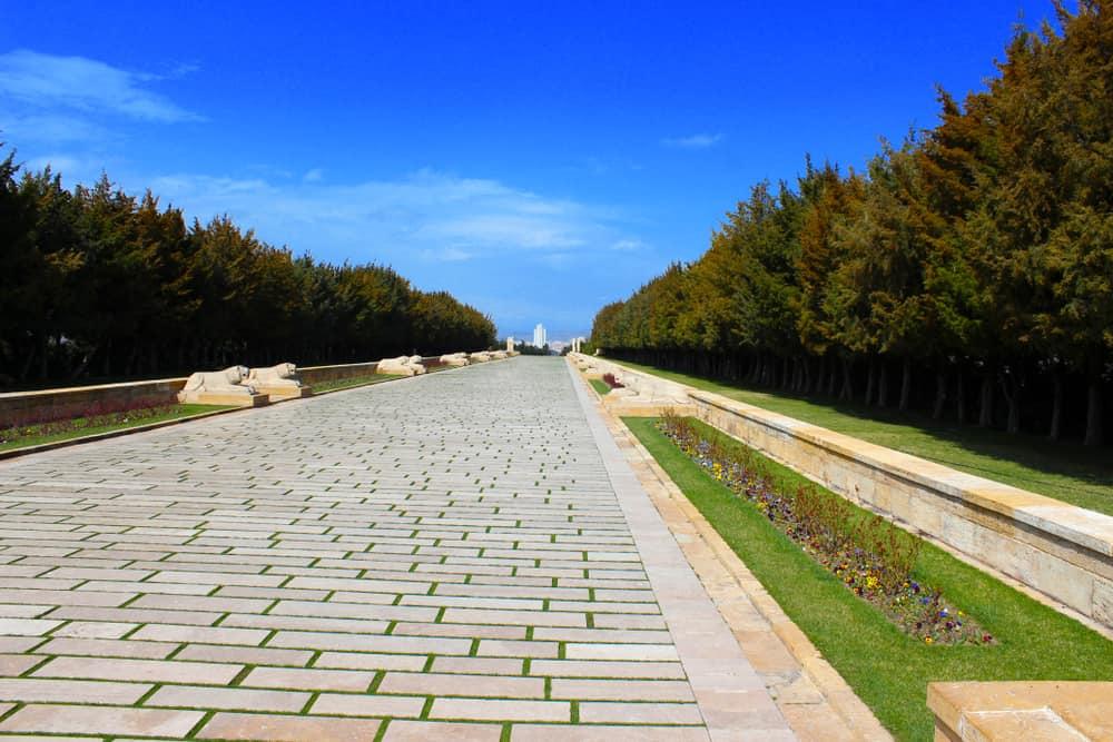 Anıtkabir Aslanlı Yol