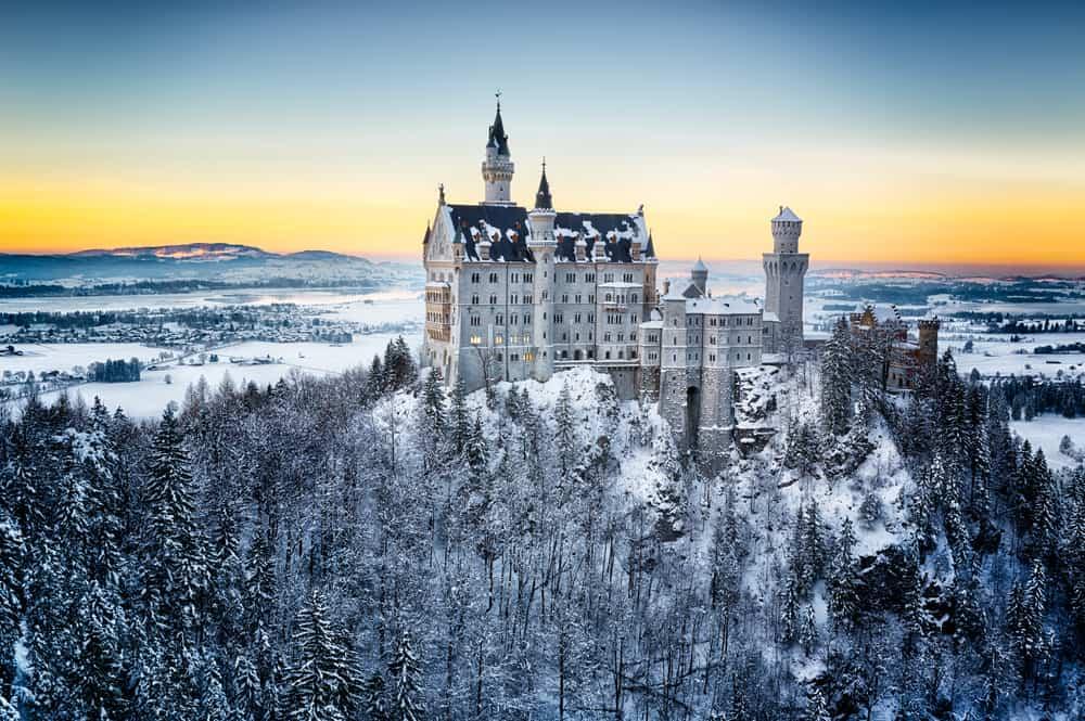 Neuschwanstein Şatosu Kış