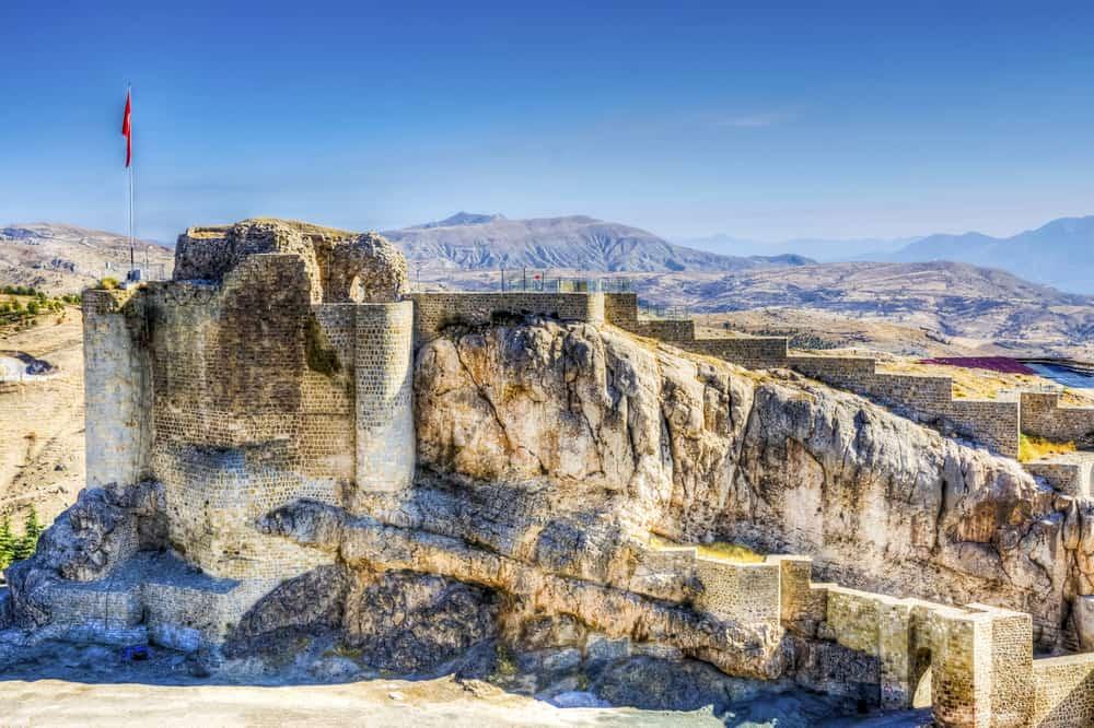 Harput kalesi Elazığ