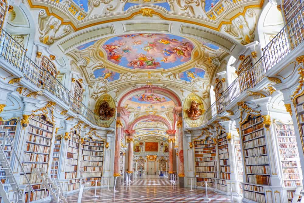Admont Abbey Library,