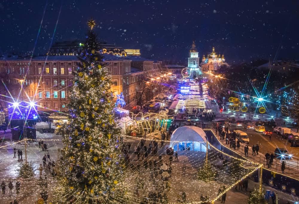 Kiev new year