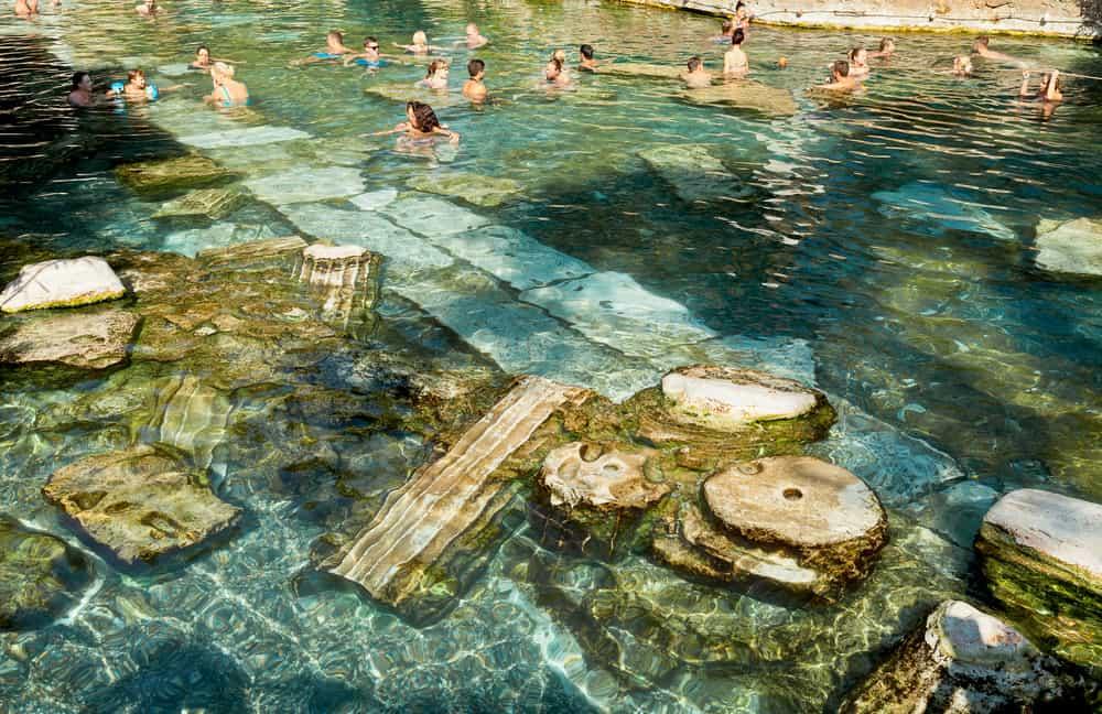 Denizli Hierapolis Kleopatra Havuzu