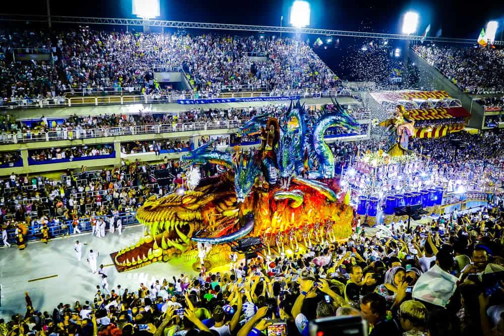 Rio de Janeiro, Brezilya Rio Karnavalı