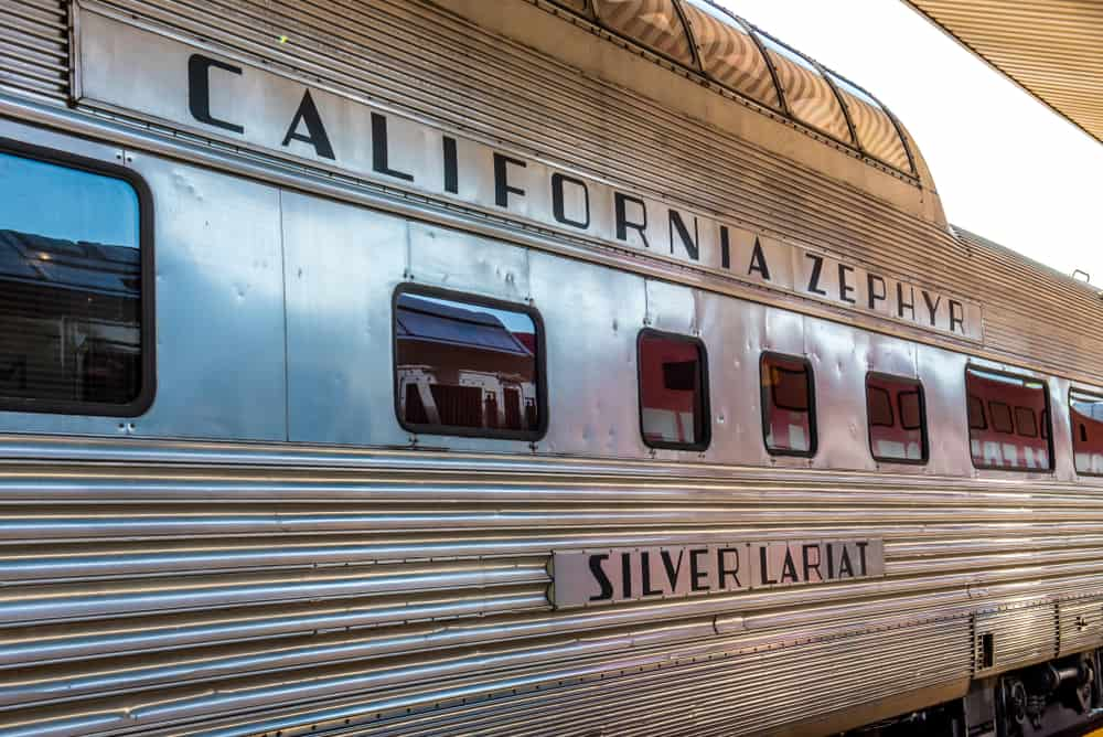 The California Zephyr Amerika Tren