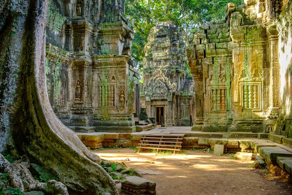 Kamboçya Angkor Wat Tapınağı